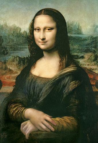 (迷你尺寸) 達文西 - 蒙娜麗莎 1053塊 (26×38cm)