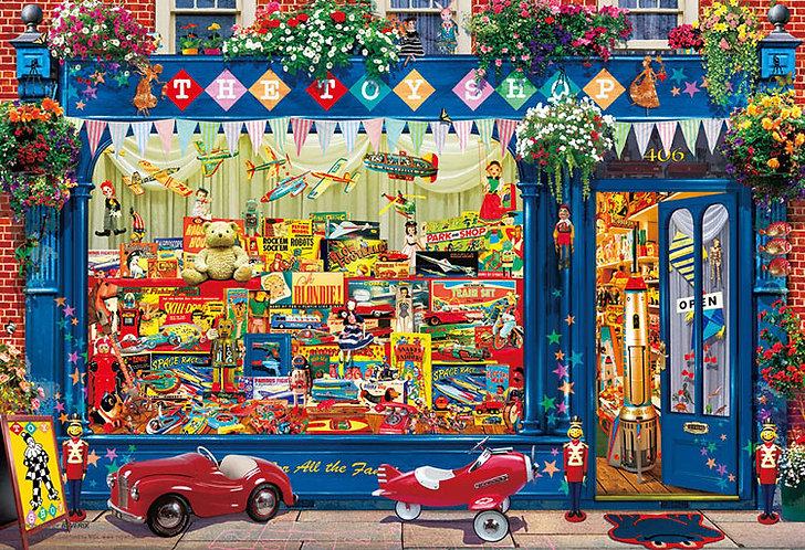 (迷你尺寸) Garry Walton - 玩具店 1000塊 (26×38cm)