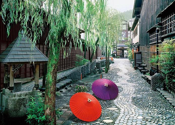 日本風景 - 水鄉之町 500塊 (38×53cm)