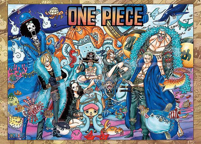 海賊王 - 海賊王20週年藝術畫 1000塊 (50×75cm)
