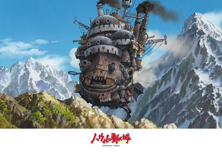 哈爾移動城堡 - 魔法之城 300塊 (26×38cm)