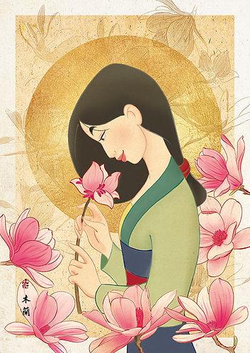 花木蘭 - 花之香 108塊 (18.2×25.7cm)