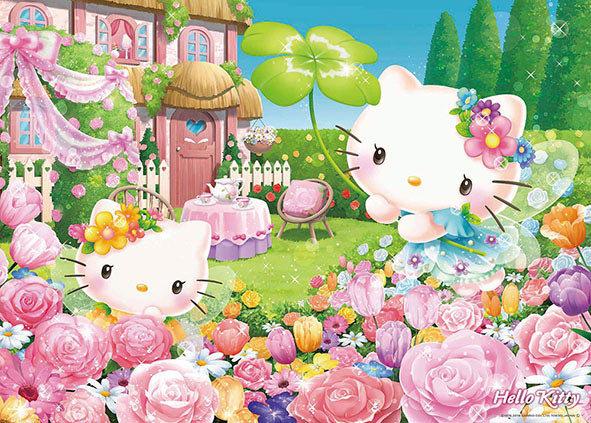 Sanrio - Hello Kitty童話花園 600塊 (38×53cm)