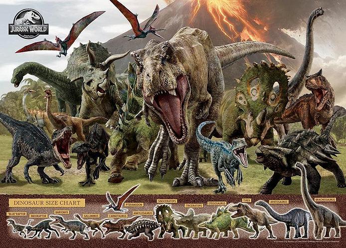 侏羅紀世界 - 恐龍的力量 500塊 (38×53cm)