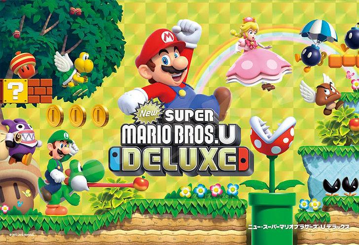 Super Mario - 超級瑪利奥兄弟Deluxe 300塊 (26×38cm)