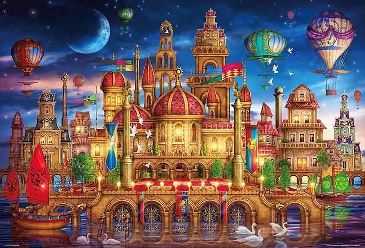 Ciro Marchetti - 水上宮殿 1000塊 (49×72cm)