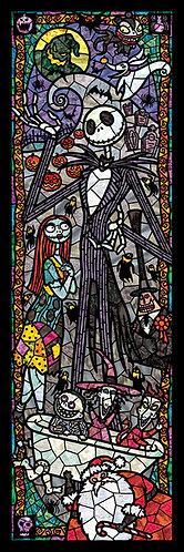 (透明樹脂) 怪誕城之夜 - 怪誕城之夜彩繪藝術 456塊 (18.5×55.5cm)
