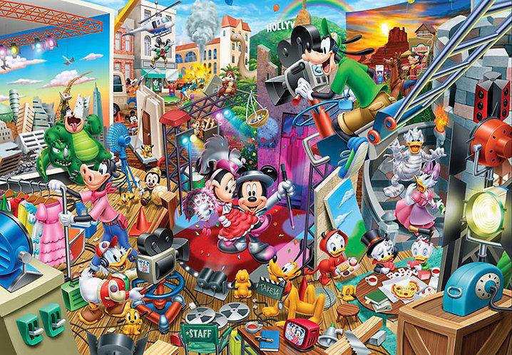迪士尼 - 米奇電影工廠 300塊 (30.5×43cm)