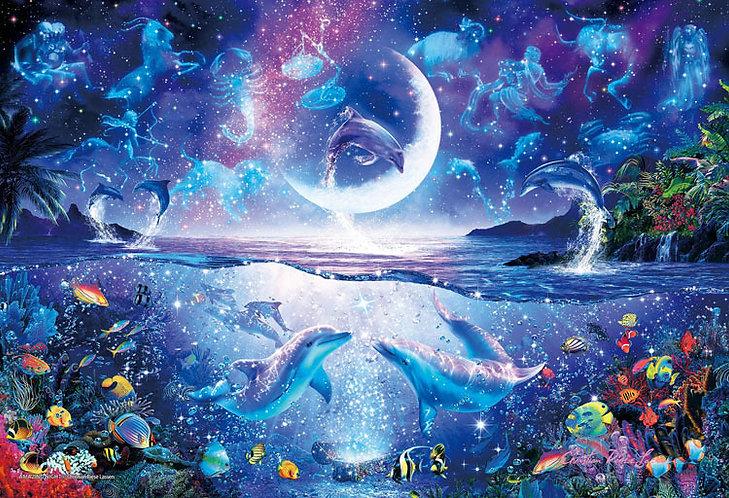 (夜光) Christian Lassen - 令人驚嘆的夜晚 300塊 (26×38cm)