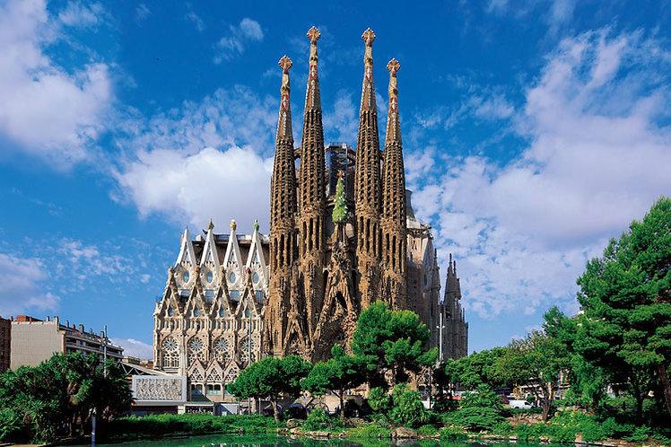 西班牙風景 - 聖家宗座聖殿暨贖罪殿 1000塊 (50×75cm)
