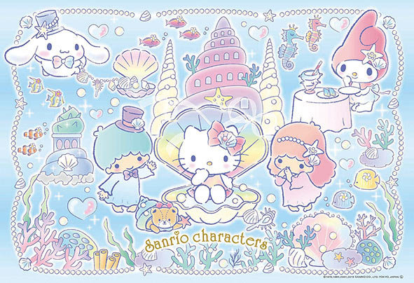 Sanrio - 角色海洋派對 300塊 (26×38cm)
