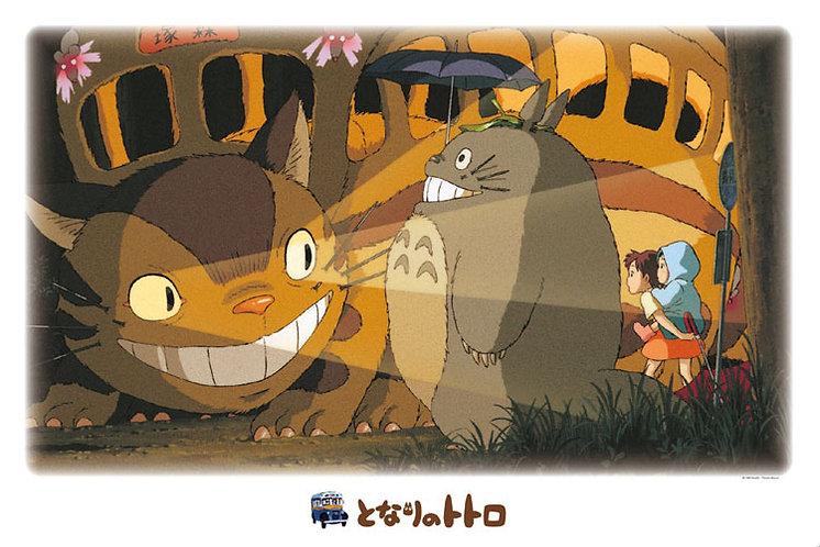 龍貓 - 貓巴士到著 1000塊 (50×75cm)