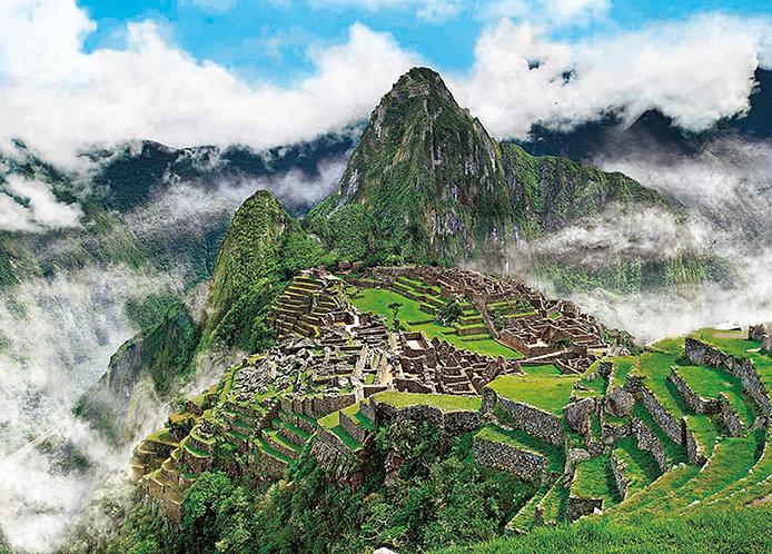 秘魯風景 - 天空之城馬丘比丘 500塊 (38×53cm)