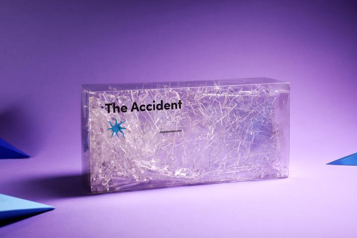 碎玻璃系列 - The Accident 意外 215塊 (55.5×58.5cm)