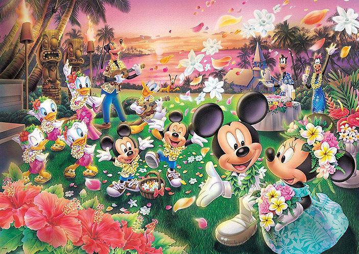 (迷你尺寸) 迪士尼 - 米奇米妮婚禮祝福 1000塊 (29.7×42cm)