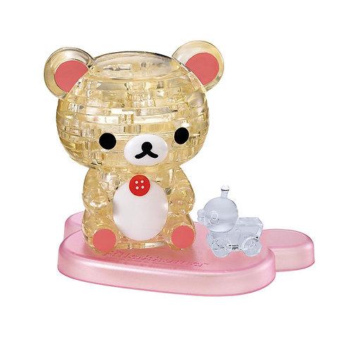 水晶立體 - 小白熊 (鬆弛熊) 37塊
