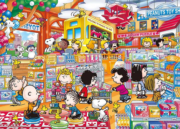 史努比 - 史努比玩具店 500塊 (38×53cm)