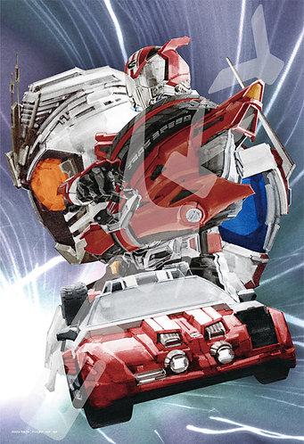 幪面超人 - Top Gear 300塊 (26×38cm)