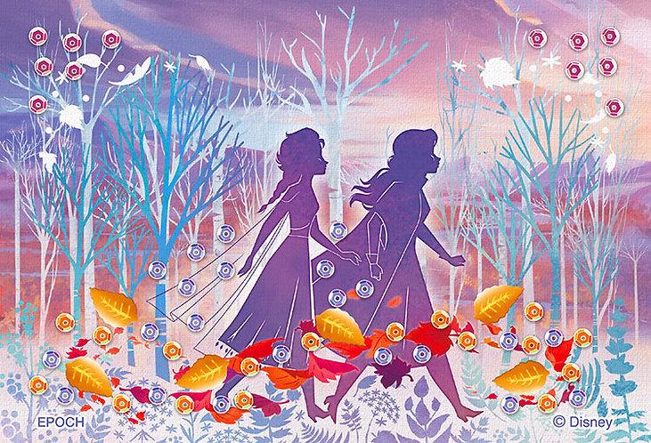 (布料質地) 魔雪奇緣 - Silhouette 70塊 (10×14.7cm)