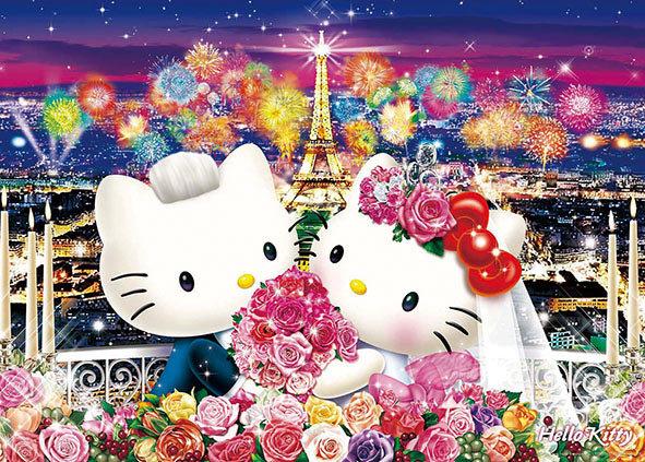 Sanrio - Hello Kitty 在巴黎舉行婚禮 600塊 (38×53cm)