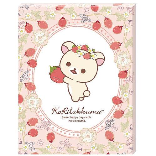 畫布框立體 - 鬆弛熊 草莓熊 366塊