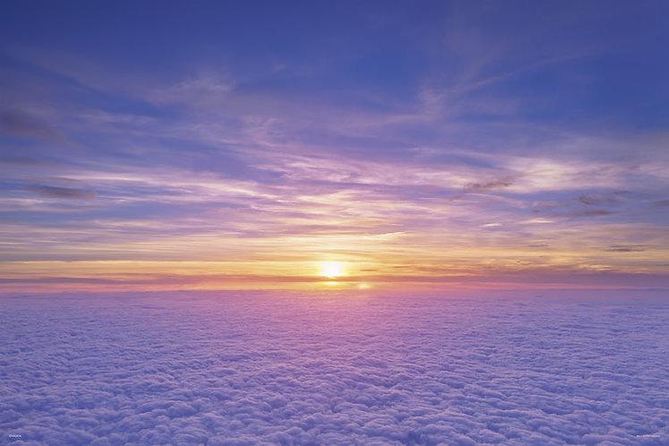 日本風景 - 雲海 1000塊 (50×75cm)