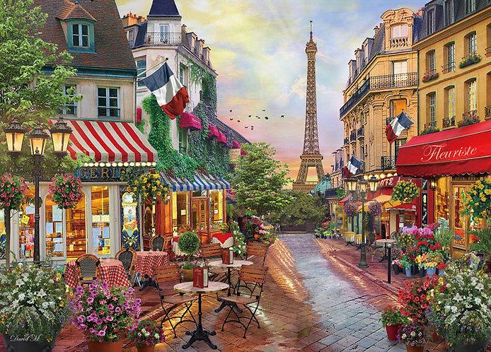 (帆布紋理) (迷你尺寸) David McLean - 夢幻巴黎 2000塊 (38×53cm)