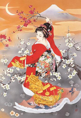 森田春代 - 壽龜 300塊 (26×38cm)