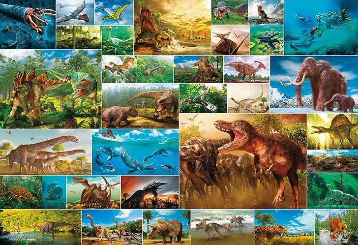 動物類 - 恐龍的生活 1000塊 (49×72cm)