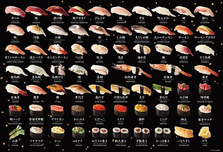 其他類 - 鮨 壽司組合 1000塊 (49×72cm)