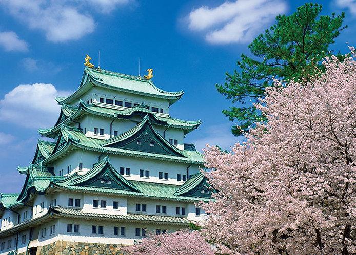 日本風景 - 名古屋城 500塊 (38×53cm)