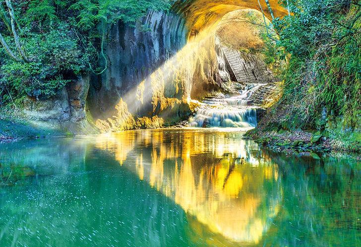 日本風景 - 烏龜岩之洞穴 300塊 (26×38cm)