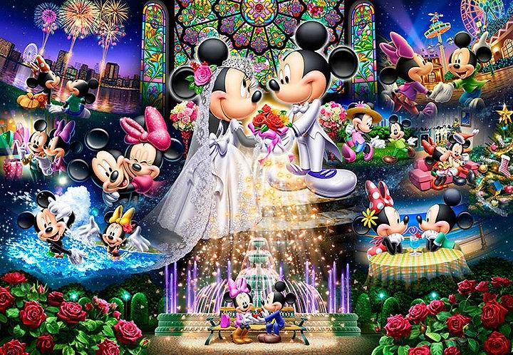 (迷你尺寸) 迪士尼 - 永恆誓言 2000塊 (51×73.5cm)