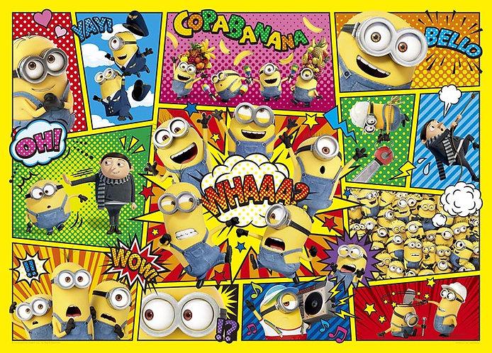 迷你兵團 - 香蕉漫畫 500塊 (38×53cm)