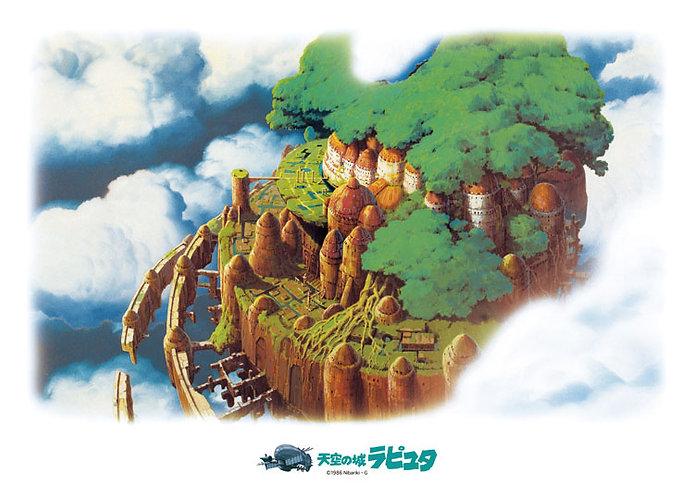 天空之城 - 天空之城 500塊 (38×53cm)