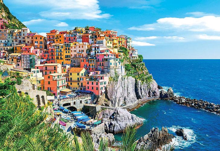 (迷你尺寸) 意大利風景 - 五鄉地街景 1053塊 (26×38cm)