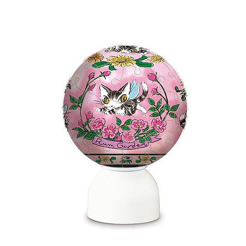 球形立體 - 達洋貓 粉組花園 60塊