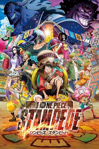 海賊王 - 劇場版『ONE PIECE STAMPEDE』1000塊 (50×75cm)
