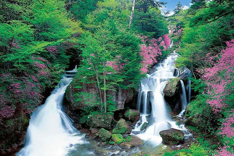 日本風景 - 栃木縣小溪流 1000塊 (50×75cm)