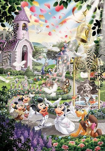 迪士尼 - 婚禮鐘聲 108塊 (18.2×25.7cm)