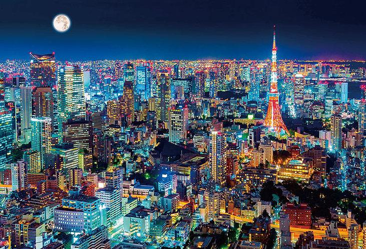 日本風景 - 東京夜景 1000塊 (49×72cm)