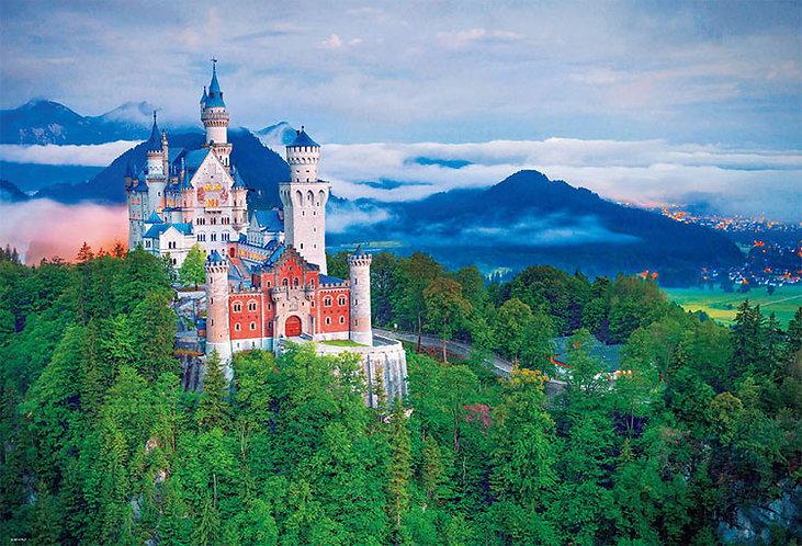 德國風景 - 新天鵝堡 1000塊 (49×72cm)