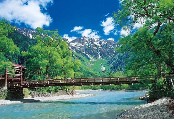日本風景 - 長野河童橋 300塊 (26×38cm)