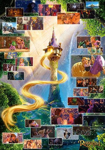 (迷你尺寸) 魔髮奇緣 - 長髮公主場景系列 2000塊 (51×73.5cm)