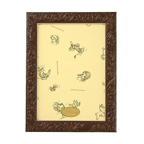 迪士尼角色雕刻框 茶棕色 - 18.2×25.7cm (108/266塊)