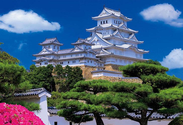 日本風景 - 姫路城 300塊 (26×38cm)