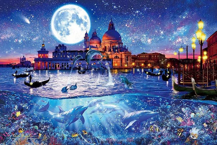 (夜光) Christian Lassen - 威尼斯世界旅行 1000塊 (50×75cm)