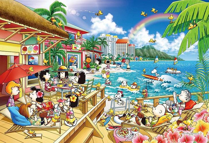 (迷你尺寸) 史努比 - 花生海灘度假村 1053塊 (26×38cm)