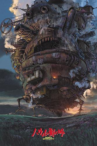 哈爾移動城堡 - 哈爾移動城堡 1000塊 (50×75cm)