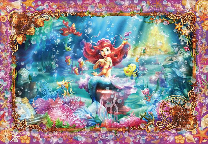 (透明樹脂) 小魚仙 - 小美人魚Ariel 500塊 (25×36cm)
